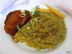 Nejedlé recepty: Hrachová kaše Risotto, Food And Drink, Ethnic Recipes
