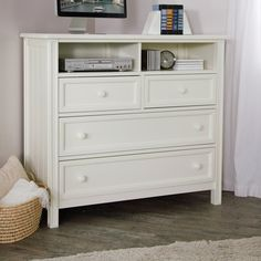 Have to have it. Casey Media Chest - White $499.99
