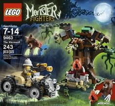 Lego Monster Fighters 9463 The Werewolf 5702014840607 | eBay