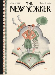 Ralph Jester : Cover art for The New Yorker 75 - 24 July 1926