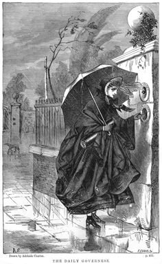 Adelaide Claxton, 'The Daily Governess', London Society (June, 1862)