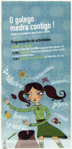 [Concello da Coruña, 2010] A 17, Movie Posters, Nail, Theater, Infancy, Film Poster, Popcorn Posters, Film Posters, Posters