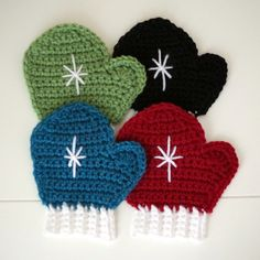 I love making new coasters with each season and for winter I made these mitten coasters. You can find the free (and really easy) pattern here on Ravelry. I blocked them and let them dry in front of…
