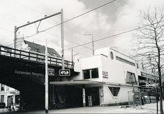 Station Bergweg van de hofplein lijn (Jaren 70)