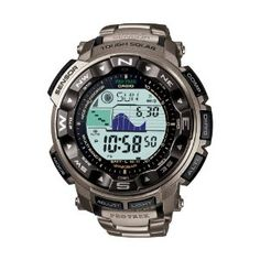 Casio Protrek Watches - Designed for Durability. Casio Protrek - Developed for Toughness Forget technicalities for a while. Let's eye a few of the finest things about the Casio Pro-Trek. Casio G Shock, G Shock Watches, Sport Watches, Watches For Men, Ebay Watches, Wrist Watches, Rugged Watches, Leather Watches, Casio Protrek