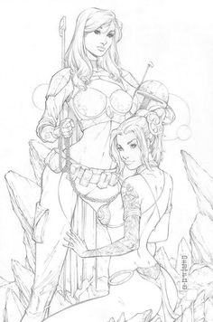 This year's May the cosplay exclusive for Notti & Nyce from Counterpoint Comics. Pencils: Me (Mike DeBalfo) ____________________ www. Notti and Nyce May the 2018 Cosplay Exclusive Girl Drawing Sketches, Art Drawings, Transférer Des Photos, Character Art, Character Design, Comic Art Girls, Fantasy Art Women, Artist Sketchbook, Drawing Reference Poses