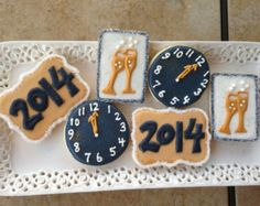 12 New Year's Eve Cookies