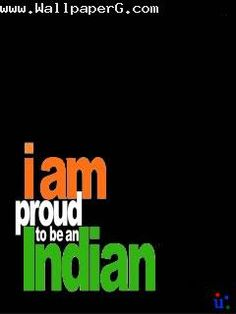 Download I am proud to be an indian - Republic day wallpapers for your mobile cell phone