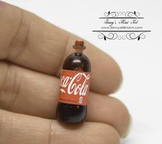 1:12 Dollhouse Miniature Soda/ Miniature Coca Cola/Miniature