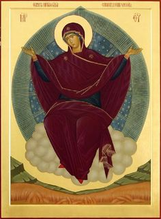 Theotokos Grower of Crops icon. Religious Images, Religious Icons, Religious Art, Christian Drawings, Christian Art, Byzantine Icons, Byzantine Art, Catholic Art, Catholic Saints