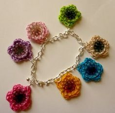 Recycled Rose Necklace