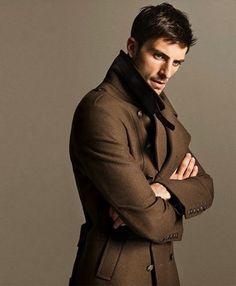 Brown men coat