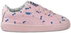 Roze Puma Sneakers TINY COTTONS CANVAS