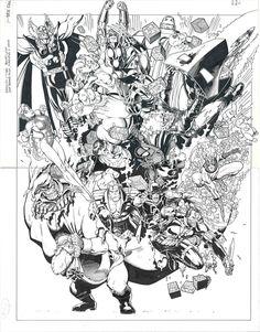 Marvel Christmas Cvr Artist: Arthur Adams