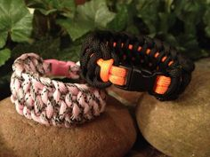 SHIPS FREE IN U.S.....Wide Paracord Bracelet...Made by Bluestar409, $9.00