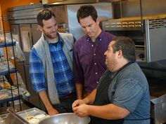 Learning from the Master : Chef Eric Greenspan has long been considered the unofficial guru of grilled cheese himself. Here the guys learn his secrets while visiting his shop, Greenspan's Grilled Cheese.