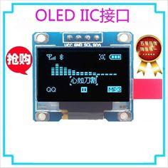 """white  128X64 0.96 inch OLED LCD LED Display Module For Arduino 0.96"""" IIC I2C Communicate"""