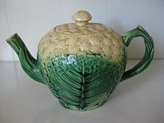 If I had buckets and buckets of money, I'd spend lots of it on Majolica Teapots.