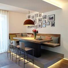 Haus Ku.: moderne Küche von Lioba Schneider