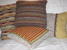 #Crochet pillows add a cozy feeling to any room. This is the perfect decor you need to add a touch of color.