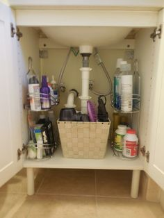 "I added ""Improvement List: Repurpose Under the Sink Storage"" to an #inlinkz linkup!http://improvementlist.blogspot.com/2013/08/share-project-pretty-organized.html"