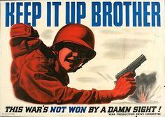 WWII Poster, #World War II