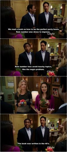 How to party Troy and Abed style