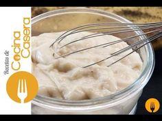 Bechamel sin gluten para celíacos | Recetas de Cocina Casera - Recetas fáciles y sencillas