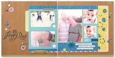 How cute is this layout? The Workshops on the Go® Confetti Wishes scrapbooking kit is great for documenting all kinds of celebrations.