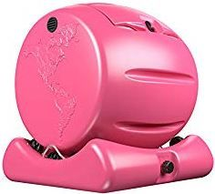 The Cutest Composter in the World in Pink Made in the USA Food Safe BPA and Rust Free No Assembly Required Envirocycle Mini Composting Tumbler Bin and Compost Tea Maker Compost Tumbler, Compost Tea, Garden Compost, Composting Bins, Small Gardens, Outdoor Gardens, Types Of Waste, How To Make Compost, Kitchen Waste