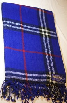 Himalaya Trading Company 100% Cashmere 2 Ply Twill Weave Plaid Throw Blanket | eBay