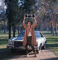Still of John Cusack in Say Anything...  - Classic!