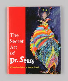 Take a look at this The Secret Art of Dr. Seuss Hardcover by Dr. Seuss on #zulily today!
