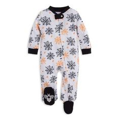 Your little trick or treater will love the soft and cozy feel of the Itsy Bitsy Spider Footie from Burt's Bees Baby. Perfect for playtime or bedtime, this charming footie comes crafted of plush organic cotton with a zip closure for easy changes. Halloween Pajamas, Baby Girl Halloween Costumes, Baby Costumes, Matching Family Holiday Pajamas, Itsy Bitsy Spider, One Piece Outfit, Burts Bees, Baby Size, Organic Cotton