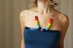 Crochet jewellery by XauXau, http://www.etsy.com/shop/XauXau