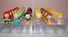 Princesas Disney en porcelana fria - Imagui