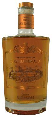 Grappa Riserva Brolio Castle - Barone Ricasoli  Distilled pomace of Chianti Classico grapes that go to produce the Castello di Brolio wine...  http://www.italiaworldwide.com/eng/grappa-brolio-ricasoli.html