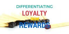 Distinguishing loyalty from rewards