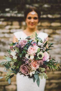 wedding flowers for autumn | Autumn #weddingflowers ideas | fabmood.com