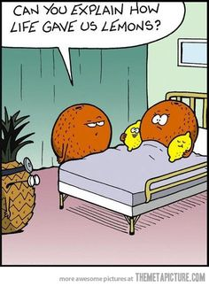Life gives you lemons at the worst occasions…