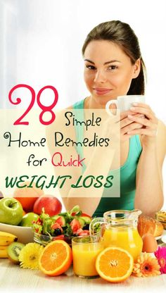28 Simple Home Remedies for Weight Loss