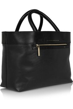 Victoria Beckham | Quincy Inside Out reversible matte-leather tote | NET-A-PORTER.COM