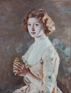 The Captivec.1935 by Wilfred de Glehn (English 1870-1951)