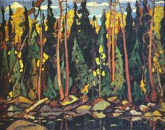 The Group of Seven and Canadian Nationalism – All About Canadian History Group Of Seven Artists, Group Of Seven Paintings, Canadian Painters, Canadian Artists, Emily Carr Paintings, Tom Thomson Paintings, Montreal Museums, Canadian History, Jpg