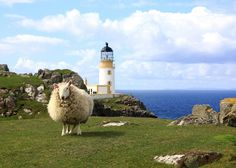 Neist Point Lighthouse, Isle of Skye, Scotland: At the World's edge (13 Pictures)
