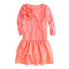Girls' flapper dress