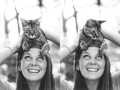 I want a picture with my cat and my two dogs. :)