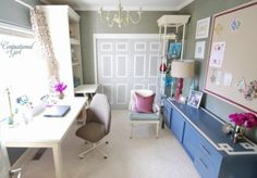 Elegant Feminine Home Office