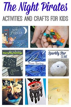 The Night Pirates Activites and Crafts - Crafts on Sea
