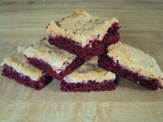 Red Velvet Brownies!